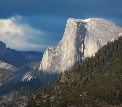 A picture of half-dome