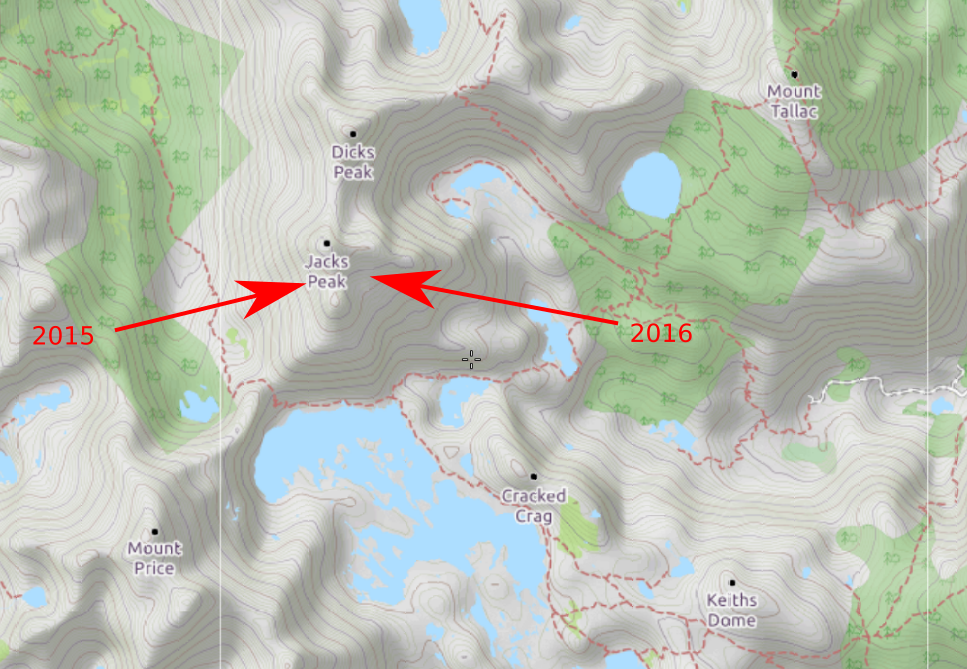 Map Showing Both Years